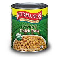 Furmano's Organic Chick Peas (Garbanzo Beans) #10 Can