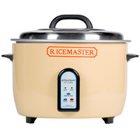 Town 57138 74 Cup (37 Cup Raw) Electric Rice Cooker / Warmer - 230V, 1950W
