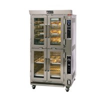 Doyon JAOP6SL Double Deck Jet Air Electric Oven Proofer Combo with Side Pan Loading - 14 kW
