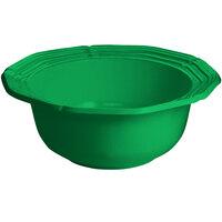 Tablecraft CW6220GN 10 Qt. Green Cast Aluminum Queen Anne Salad Bowl