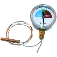 All Points 62-1107 2 inch Dial Thermometer with U-Clamp and 48 inch Capillary