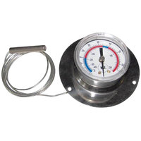 All Points 62-1039 2 inch Recessed Dial Thermometer with 48 inch Capillary