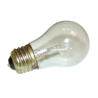 All Points 38-1505 3 1/2 inch x 1 7/8 inch Shatterproof Light Bulb - 120V, 25W