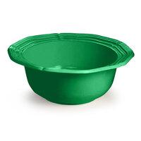 Tablecraft CW6210GN 5 Qt. Green Cast Aluminum Queen Anne Salad Bowl