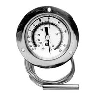 All Points 62-1037 2 inch Recessed Dial Thermometer with 10 inch Capillary
