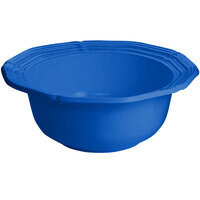 Tablecraft CW6220CBL 10 Qt. Cobalt Blue Cast Aluminum Queen Anne Salad Bowl