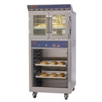 Doyon JA4SC Jet Air Single Deck Electric Bakery Convection Oven with Storage Cabinet - 120/208V, 3 Phase, 8 kW