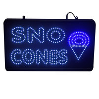 Paragon 1097 LED Snow Cone Sign