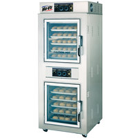 NU-VU UB-E5-5 V-Air Double Deck Full Size Electric Convection Oven - 240V, 1 Phase, 14000W