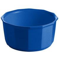 Tablecraft CW1790CBL 2.5 Qt. Cobalt Blue Cast Aluminum Prism Bowl