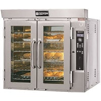 Doyon JA6G Jet Air Liquid Propane Single Deck Bakery Convection Oven - 65,000 BTU