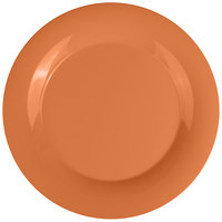 GET WP-12-PK Pumpkin Diamond Harvest 12 inch Wide Rim Plate - 12/Case