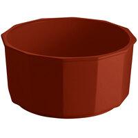 Tablecraft CW1810CP 8.5 Qt. Copper Cast Aluminum Prism Bowl