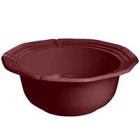 Tablecraft CW6200TC 2 Qt. Terra-Cotta Cast Aluminum Queen Anne Salad Bowl