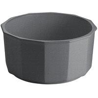 Tablecraft CW1810GR 8.5 Qt. Granite Cast Aluminum Prism Bowl