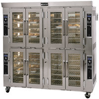 Doyon JA28G Jet Air Natural Gas Double Deck Bakery Convection Oven - 208V, 260,000 BTU