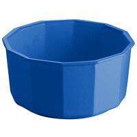 Tablecraft CW1800CBL 4.5 Qt. Cobalt Blue Cast Aluminum Prism Bowl