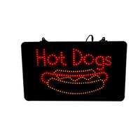 Paragon 1099 LED Hot Dog Sign