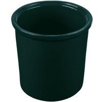 Tablecraft CW1665HGN 1.25 Qt. Hunter Green Cast Aluminum Condiment Bowl