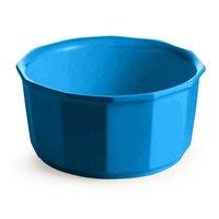 Tablecraft CW1790SBL 2.5 Qt. Sky Blue Cast Aluminum Prism Bowl