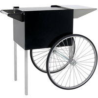 Paragon 3080710 Professional Series Black and Chrome Popcorn Cart for 4 oz. Poppers