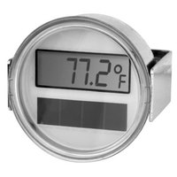 All Points 62-1112 2 inch Solar Powered Digital Thermometer with U-Clamp and 108 inch Capillary