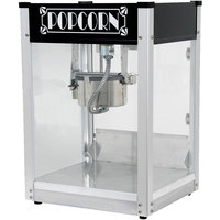 Paragon 1104520 Black Gatsby 4 oz. Popcorn Machine