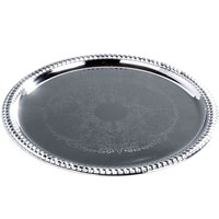 14 inch Round Chrome-Plated Buffet Catering Tray