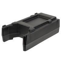 Cambro R500LCD110 4 9/16 inch Black Riser for 2.5, 4.75, and 5.25 Gallon Cambro Insulated Beverage Dispensers