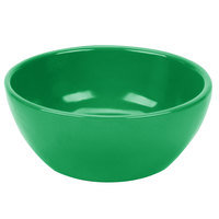 Tablecraft CW11082GN 10.5 oz. Green Cast Aluminum Small Round Display Bowl