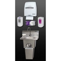 Eagle Group HFL-5000-S Touch Free Hand Washing System with Skirt