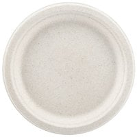 Green Wave Ovation Sugarcane / Bagasse OV-P009 9 inch Biodegradable and Compostable Premium Plate   - 500/Case