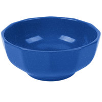Tablecraft CW1820BS 2.5 Qt. Blue Speckle Cast Aluminum Prism Bowl