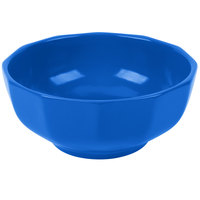 Tablecraft CW1820CBL 2.5 Qt. Cobalt Blue Cast Aluminum Prism Bowl