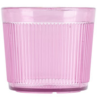 Carlisle 402955 Crystalon Stack-All 9.7 oz. Rose SAN Plastic Short Tumbler - 12/Case
