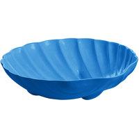 Tablecraft CW17025SBL D 6 Gallon Sky Blue Cast Aluminum Large Shell Bowl