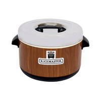 Town 56912W 64 Cup (32 Cup Raw) 12 Qt. Sushi Rice Container with Woodgrain Finish