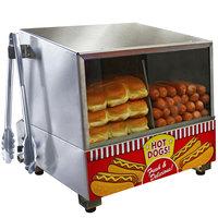 Paragon 8080 Classic Dog Hot Dog Steamer and Merchandiser 120V, 1200W