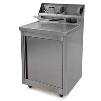 Eagle Group PHS-A-H Hot and Cold Water Portable Sink with Removable Acrylic Water Plate