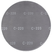 Scrubble by ACS 32043 17 inch Sand Screen Disc with 220 Grit - 10/Case