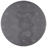 Scrubble by ACS 32185 20 inch Sand Screen Disc with 180 Grit   - 10/Case
