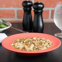 Tuxton CND-090 Concentrix 12 oz. Cinnebar China Soup / Pasta Bowl - 24/Case