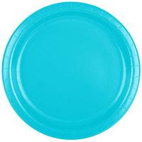 Creative Converting 471039B 9 inch Bermuda Blue Paper Plate - 240/Case