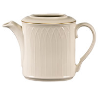 Homer Laughlin 1420-0325 Westminster Gothic Off White Replacement Body for 23 oz. Beverage Server - 12/Case