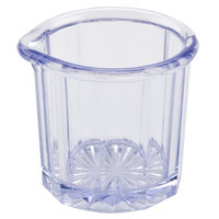 2 oz. Clear Plastic Creamer / Syrup Cup - 24/Case