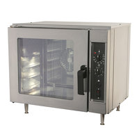 NU-VU NCO5 240/1 Half Size Countertop Electric Convection Oven - 240V, 4 kW