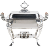 4 Qt. Half Size Chafer with Dome Cover