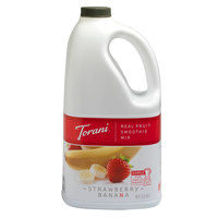 Torani 64 oz. Strawberry Banana Smoothie Mix