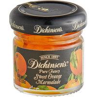 Dickinson's 1 oz. Pure Fancy Sweet Orange Marmalade - 72/Case