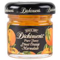 Dickinson's Pure Fancy Sweet Orange Marmalade Jelly - (72) 1 oz. Glass Jars / Case